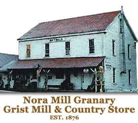 Nora Mill Grist Mill Granary and Country Store