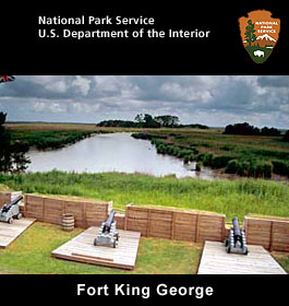 Fort King George at Georgia coast