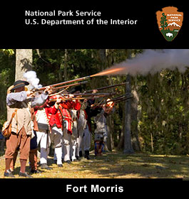 Fort Morris at Georgia coast