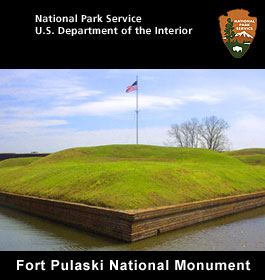 Fort Pulaski at Tybee Island GA