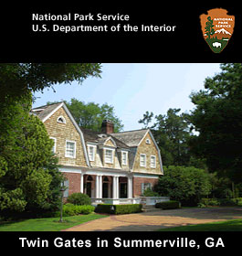 Twin Gates Historic Building in Summerville GA