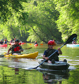 Canoeing on the Oconee River