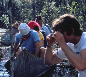 Canoeing and Photography at Okefenokee NWR