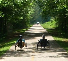 Silver Comet Bike Trail in Pauling County