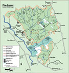 Piedmont National Wildlife Refuge Map