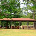 Pavilion at Providence Canyon State Park