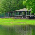 Lakeside pavilion at Richard B Russell State Park