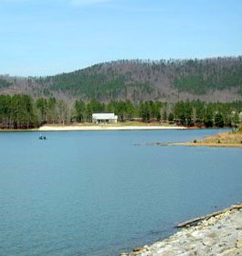 Rocky mountain public fishing area for Public fishing in georgia