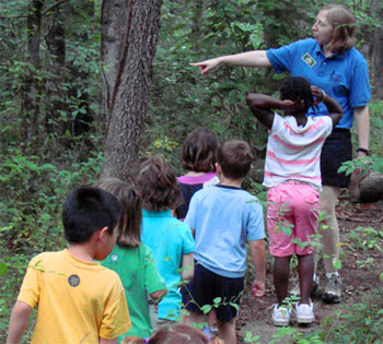 Sandy Creek Nature Center School Class Tour