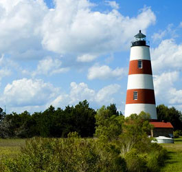 Lighthouse at Sapelo Island