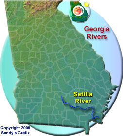 Satilla River Map