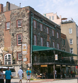 Savannah historic buildings