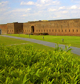 Old Fort Jackson in Savannah GA
