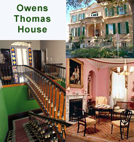 Owens-Thomas House in Savannah GA