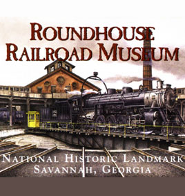 Roundhouse Railroad Museum in Savannah GA