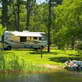 Lakeside Camping at Seminole State Park
