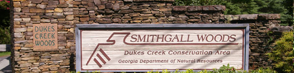 Smithgall Woods Sign