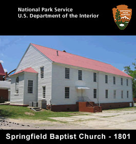 Springfield Baptist Church in 1801