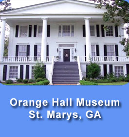 Orange Hall Museum in St. Marys GA