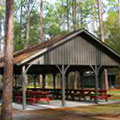 Picnic Shelter at Stephen C Foster State Park