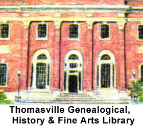 Thomasville Genealogical, History & Fine Arts Library