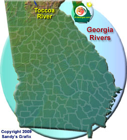 Toccoa River Map