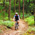 Biking at Unicoi State Park