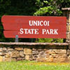 Unicoi State Park sign