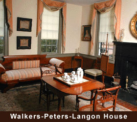 Walkers-Peters-Landon House Interior