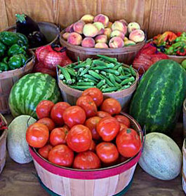 William Brown Farms Vegetables and Fruits