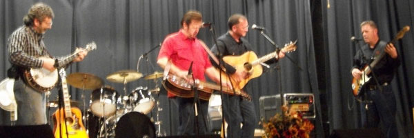Musicians playing at Woodbine Opry