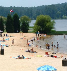 Beach At Lake Acworth