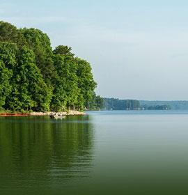 Lake Sinclair Scenic Beauty